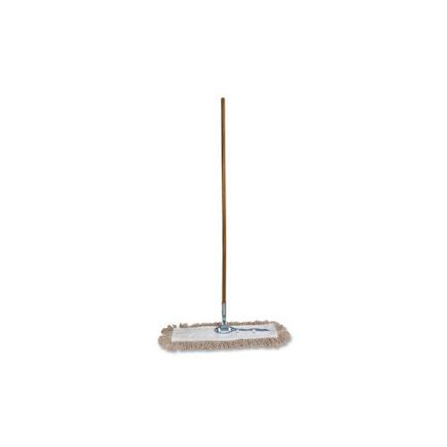 GENUINE JOE Dust Mop, w/ Handle, 24 Frame, 60 Handle
