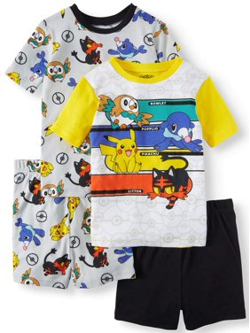 Product Image Boys  Pokemon 4 Piece Pajama Sleep Set (Little Boy ... dc8419e31