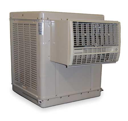 ESSICK AIR N44W Window Evaporative Cooler, 3500 cfm, 1/3 HP
