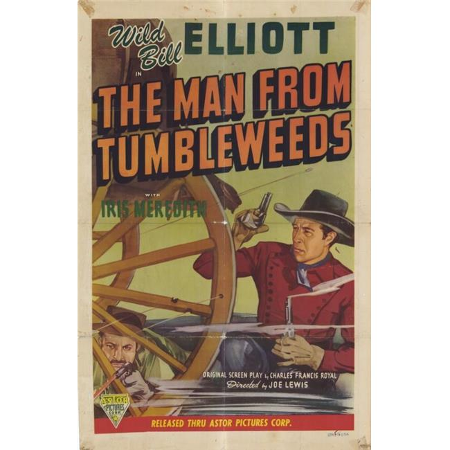 Posterazzi MOVGF0867 The Man From Tumbleweeds Movie Poster - 27 x 40 in. - image 1 de 1