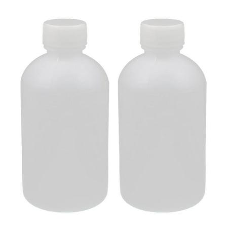 2Pcs 100mL Lab Experiment Plastic Graduated Chemicals Reagent Container Bottle - image 2 of 2