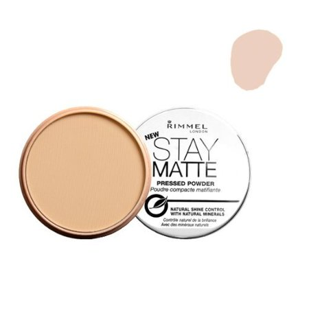 (3 Pack) LONDON Stay Matte Long Lasting Pressed Powder - Creamy Natural, By Rimmel From