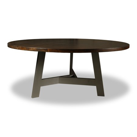 South Cone Home Wingston Round Dining Table Top Cement - Cement top round dining table