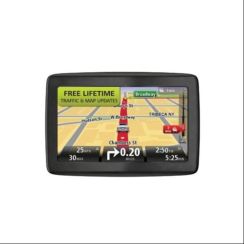"""Refurbished TomTom GO 600 Automotive GPS 6"""" With Lifetime Maps And Traffic"""