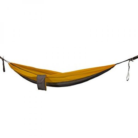 rovor chill-solo single camping hammocks with quadruple stitching, included tree straps and carabiners, the solo is the best 1 person nylon parachute camp