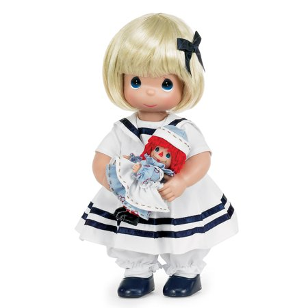 Precious Moments Dolls by The Doll Maker, Linda Rick, Marcella and Raggedy Ann, 12 inch doll - Raggedy Ann For Sale
