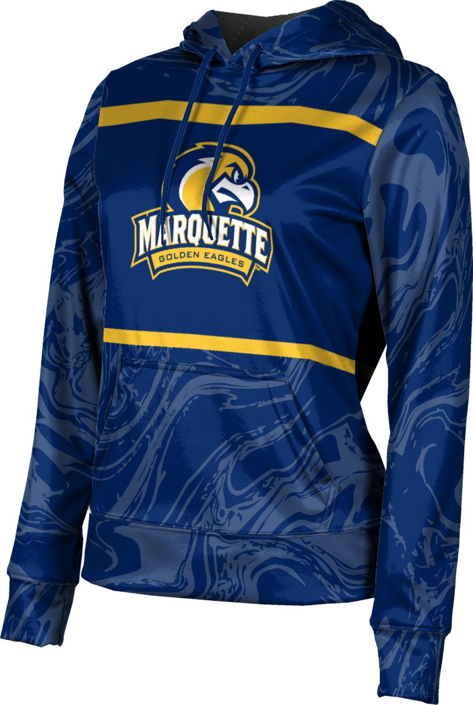 ProSphere Girls' Marquette University Ripple Pullover Hoodie