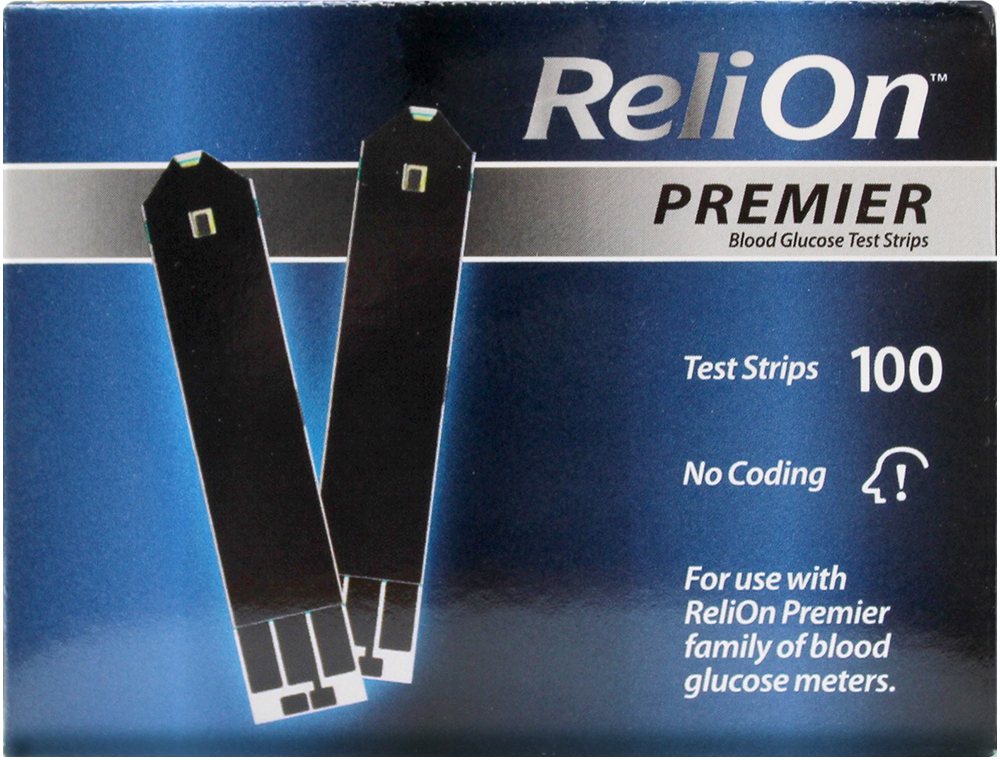 Inexpensive glucose strips