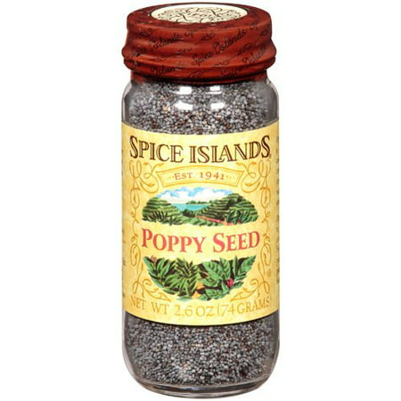 Spice Islands® Poppy Seed 2.6 oz. Jar