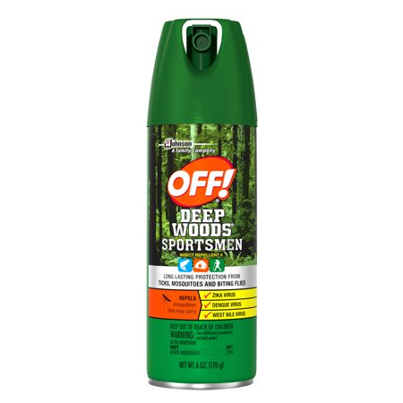 Off  Deep Woods Sportsmen Insect Repellent Ii  6 Ounces