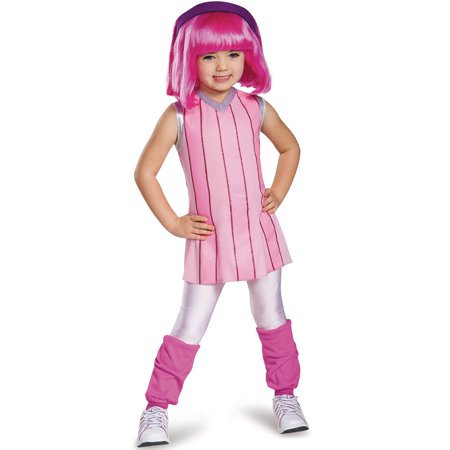 Lazytown Stephanie Deluxe Costume for Kids - Halloween Dips