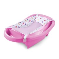 Summer Infant Comfy Clean Deluxe Newborn to Toddler Tub (Pink)
