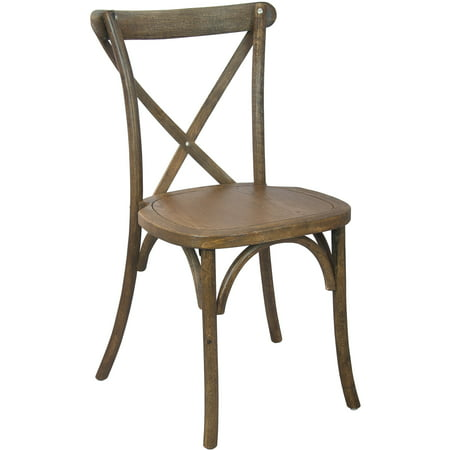 Advantage Series 2pk Wooden X-back Chair, Multiple Finishes