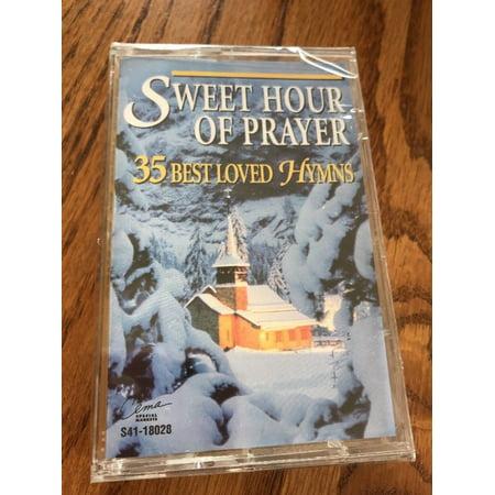 Sweet Hour Of Prayer 35 Best Loved Hymns Cassette Ships N (Sweet Hour Of Prayer Paul Cardall Sheet Music)
