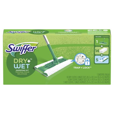 Swiffer Sweeper Starter Kit (1 Mop Kit, 19 Pad Refills)