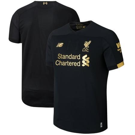 Liverpool New Balance 2019/20 Home Replica Goalkeeper Jersey - Black Black Goalie Jersey