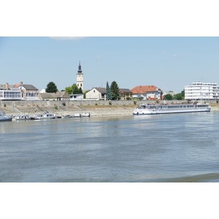 Canvas Print Hungary Serbia River Cruise Cruise Danube Balkan Stretched Canvas 10 x