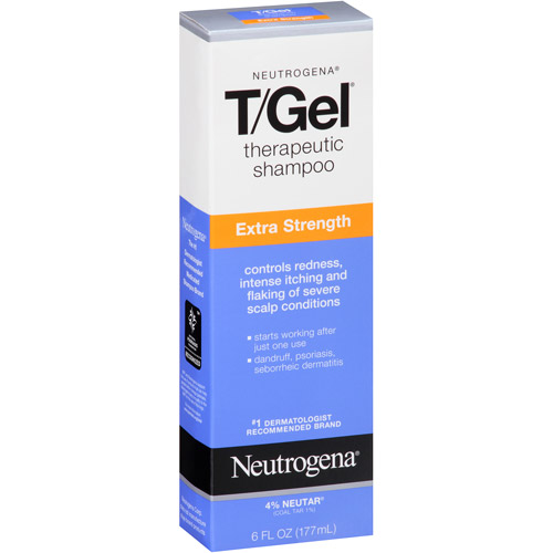 Neutrogena T/Gel Extra Strength Therapeutic Shampoo, 6 fl oz