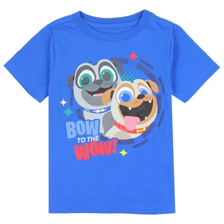 6858b0796 Disney/Puppy Dog Pals - Disney Puppy Dog Pals Toddler Boys' T-Shirt, Blue  and Grey Sizes: 2T-4T - Walmart.com