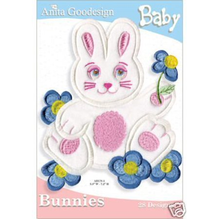 Anita Goodesign Embroidery Cd (Embroidery Designs Cd Bunnies, Each Collection Includes The Following File Formats: By Anita)