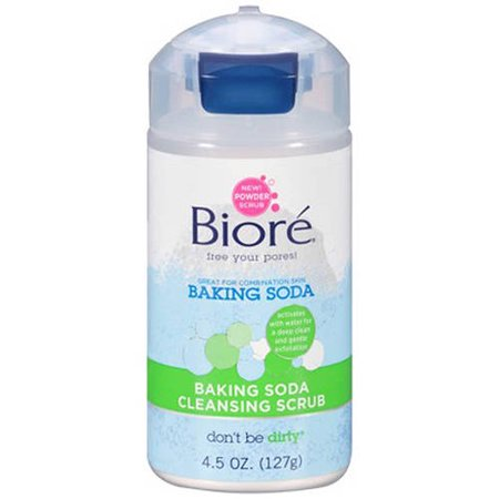Biore Baking Soda Powder Cleanser, 4.5 Oz