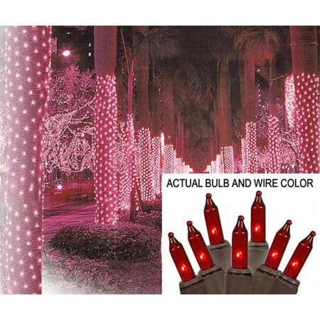 Northlight Christmas Central SIENNA 29AN4 2-ft x 8-ft Mini Christmas Net Style Tree Trunk Wrap Lights (Christmas Tree Nut)