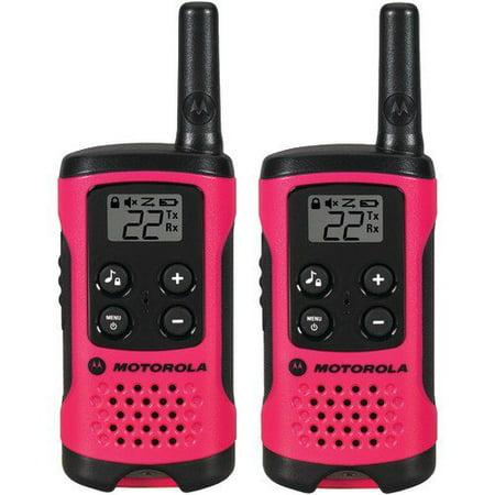 Motorola T107 Talkabout Radio, 2-Pack 2 Pin Motorola Radios