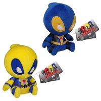 "Deadpool Funko 5"" Mopeez Plush Bundle: Blue & Yellow"