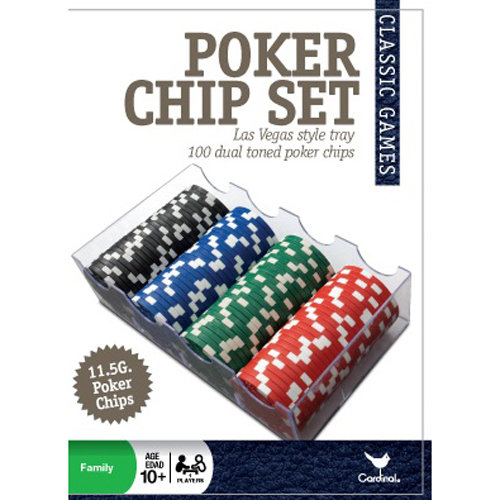 100pc Poker Set by Cardinal Industries