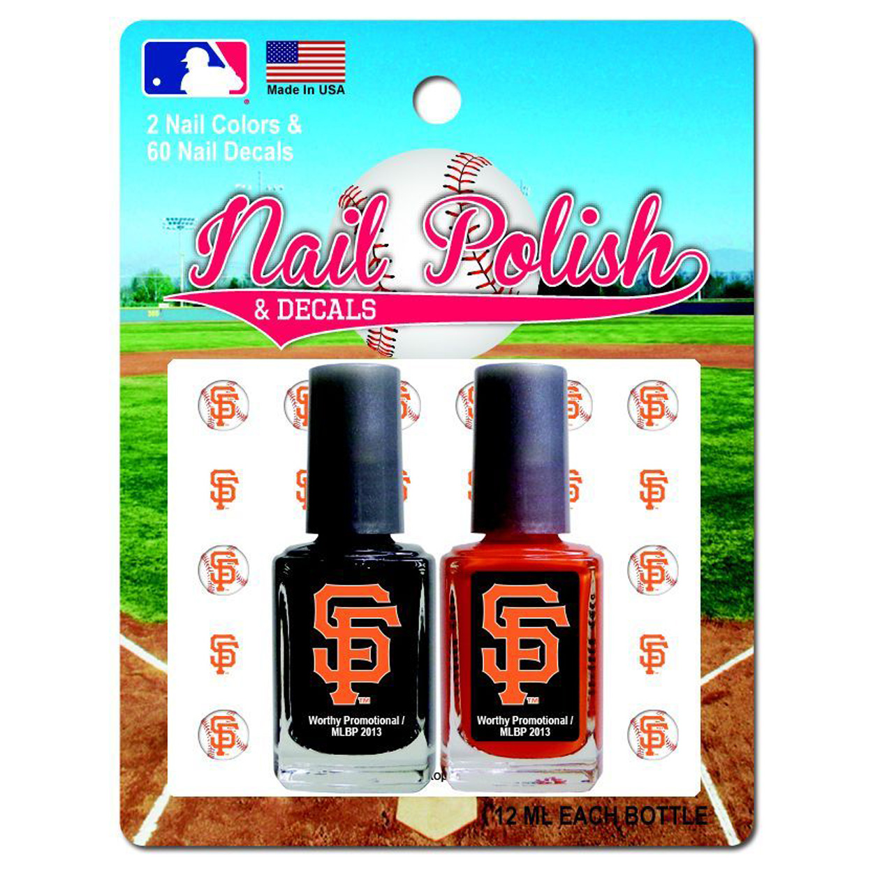 MLB San Francisco Giants Two-Pack Team Colored Nai
