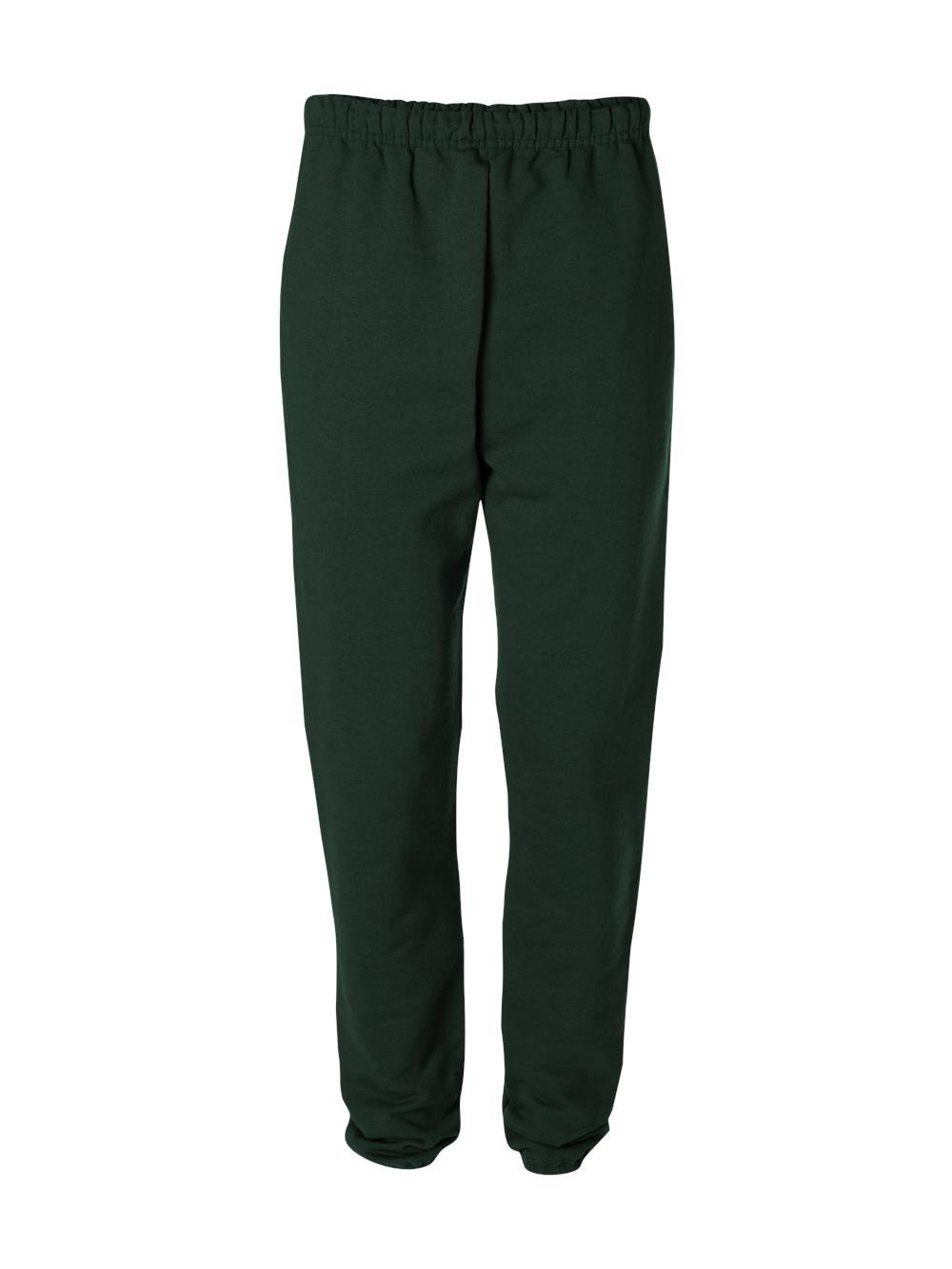 Jerzees-9-5 oz-50/50 Super Sweats NuBlend Fleece Pocketed Sweatpants-4850P
