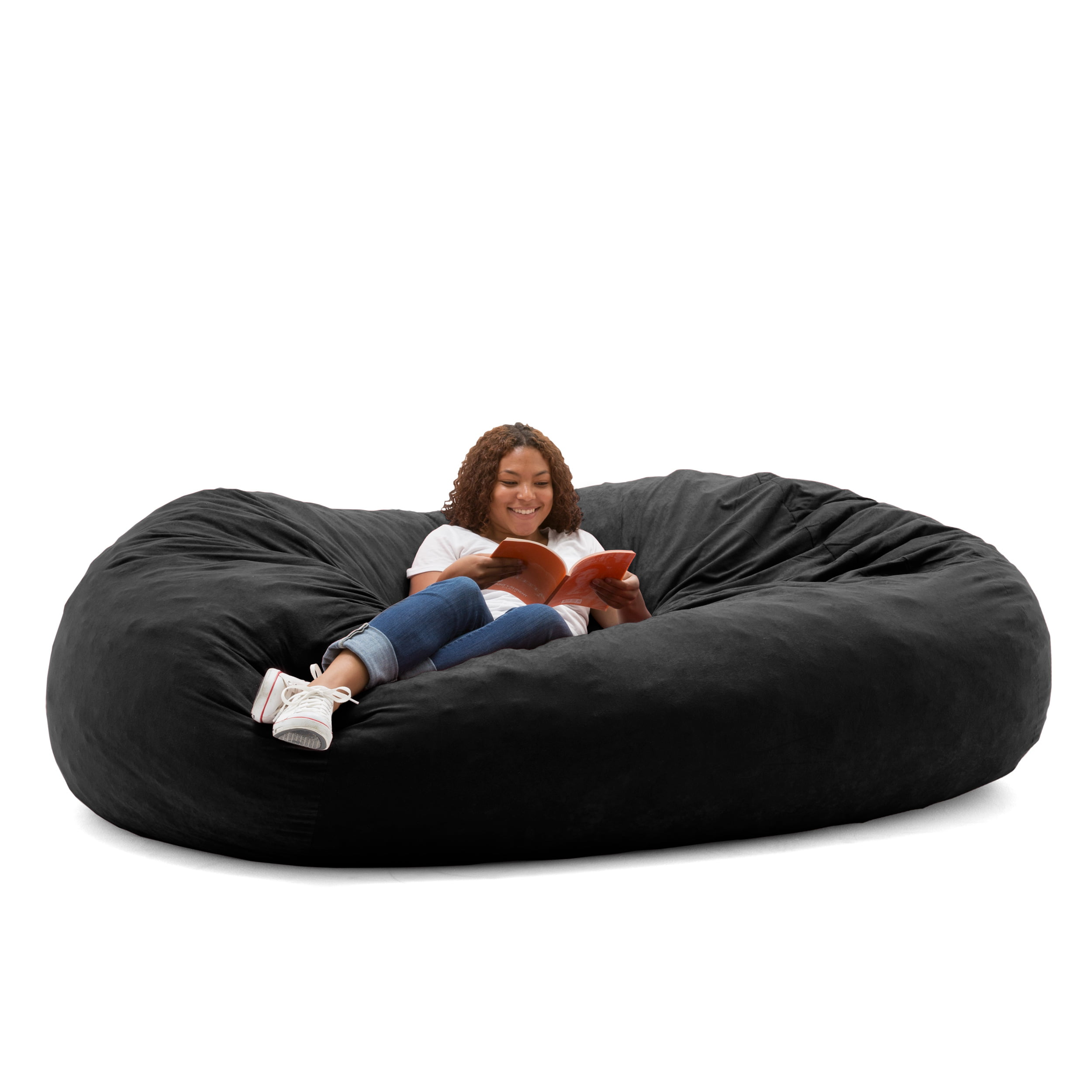 Enjoyable Big Joe Xxl 7 Fuf Bean Bag Chair Multiple Colors Fabrics Walmart Com Beatyapartments Chair Design Images Beatyapartmentscom