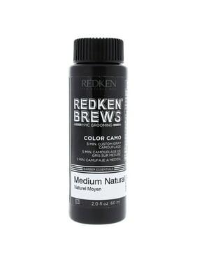 Brews Color Camo - Medium Natural by Redken for Men - 2 oz Hair Color