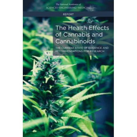 The Health Effects Of Cannabis And Cannabinoids  The Current State Of Evidence And Recommendations For Research