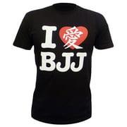Fuji Sports I Love BJJ Men's T-Shirt - Black