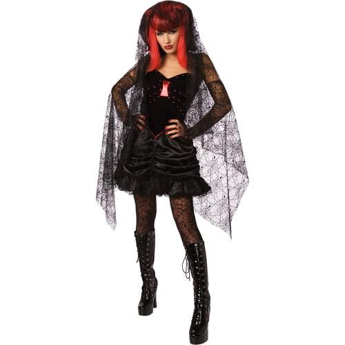 Black Widow Halloween Costume | Black Widow Adult Halloween Costume Walmart Com