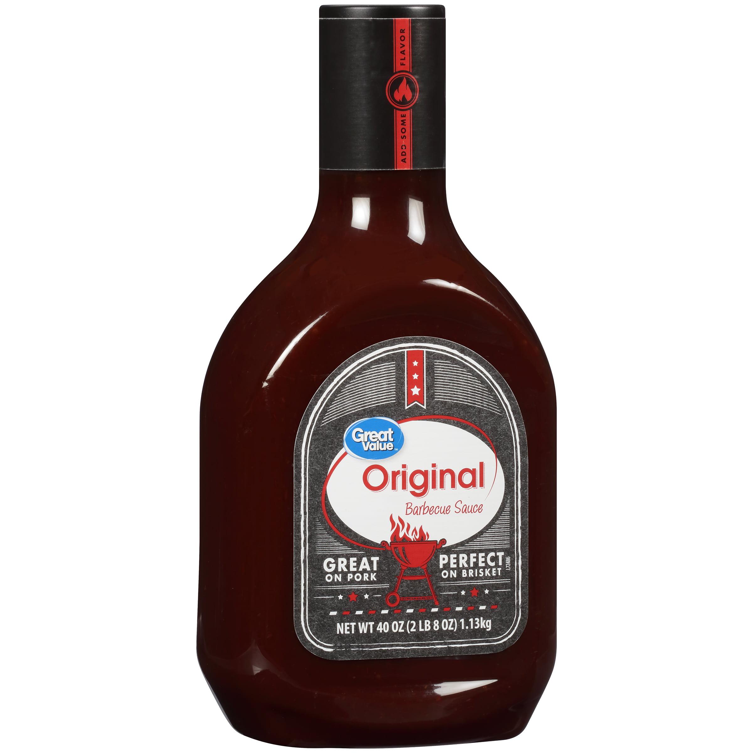 Great Value Original Barbecue Sauce, 40 oz