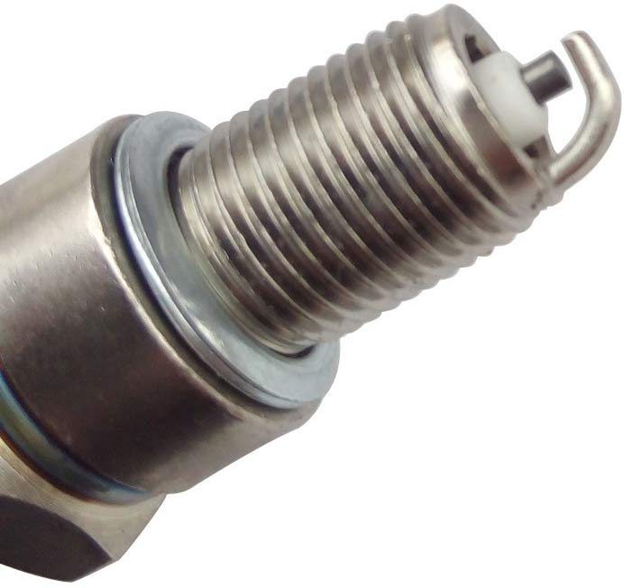 Compatible with Honda Lawn Mower Spark Plug Compatible with Honda Small Engine Spark Plug Compatible with Honda Tiller Spark Plug 4pcs Spark Plugs F6RTC Compatible with Honda GCV160 GCV190