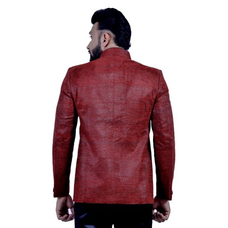 Brick Red Blazer for Men. This product is custom made to order. - image 5 of 5