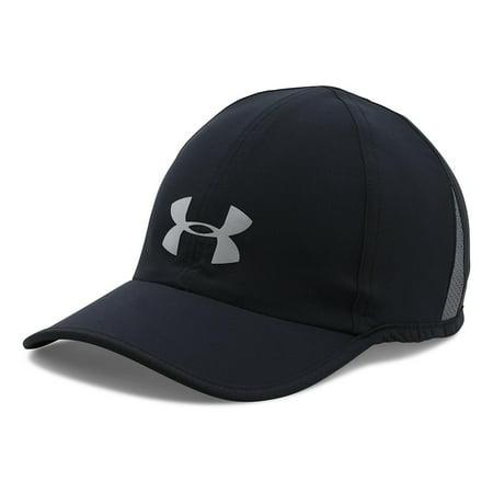 Under Armour Men's Shadow Cap 3.0, Black/Black, One Size (Under Armour Youth Cap)