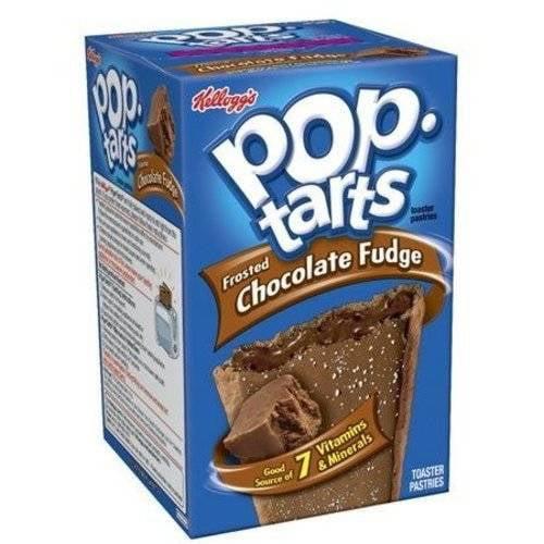 Kellogg's Pop-Tarts Frosted Chocolate Fudge Pastries, 14.7 oz
