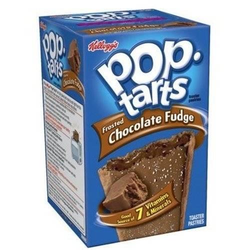 Kellogg's Pop-Tarts Frosted Chocolate Fudge Pastries, 8ct 14.7 oz