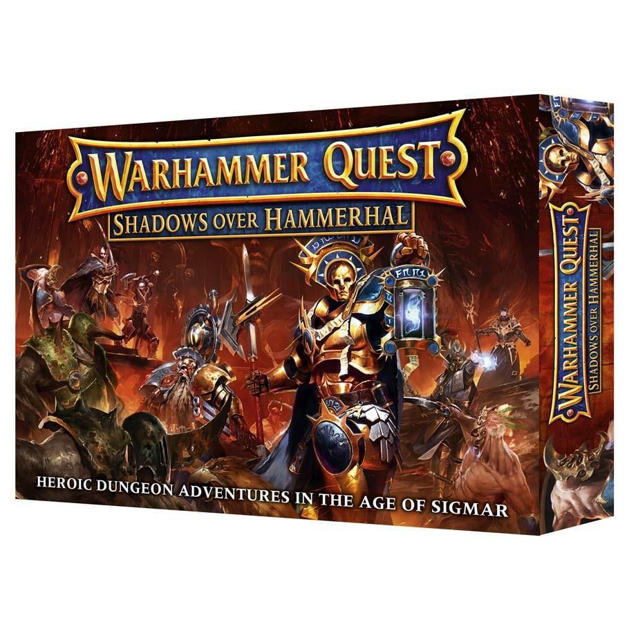 Warhammer Quest Shadows Over Hammerhal New by Games Workshop