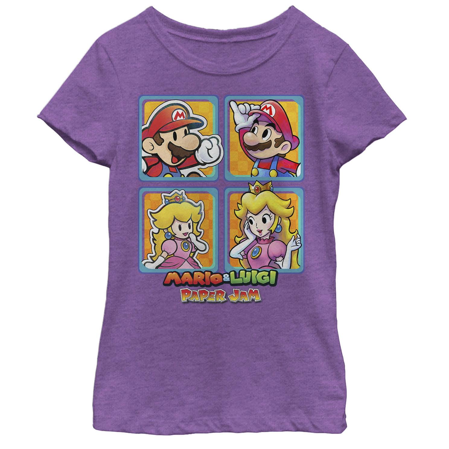 Nintendo Nintendo Girls Mario And Luigi Paper Jam Princess