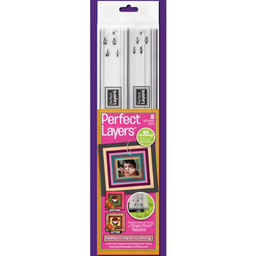 Perfect Paper Crafting Layers Tool, 1 and 2, 2-Pack Multi-Colored