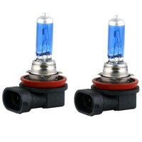 2x H11 Halogen 100W 12V Low-Beam Headlight/Fog/Driving Light Bulbs Bright White