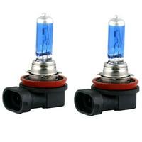 2x H11 Halogen 100W 12V Low-Beam Headlight/Fog/Driving Light Bulbs Bright White