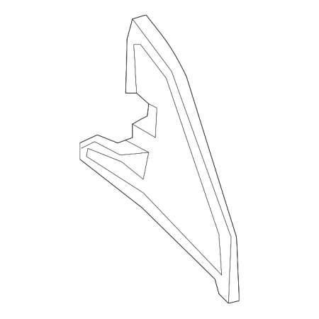 Genuine OE Nissan Fender Insulator 638A2-3SG0A (Nissan Insulator)