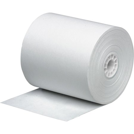- Business Source, BSN31827, 1-Ply Pack Adding Machine Rolls, 12 / Pack, White
