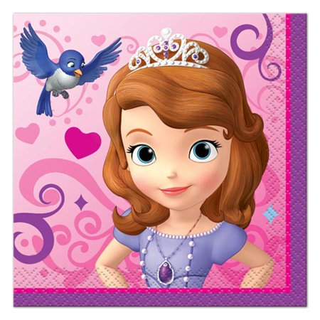 Sofia the First Small Napkins (16ct) for $<!---->